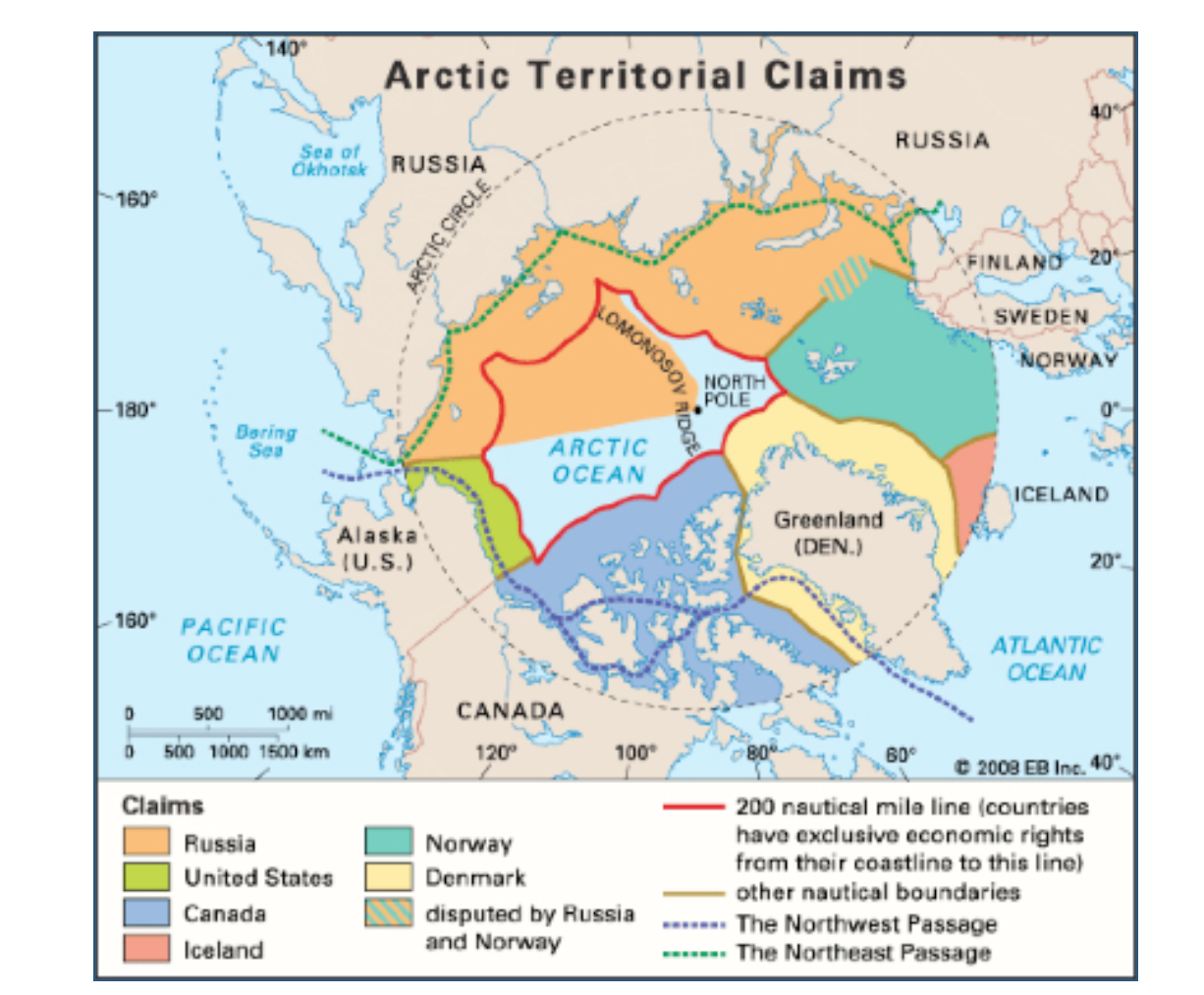Arctic Teritorial Claims