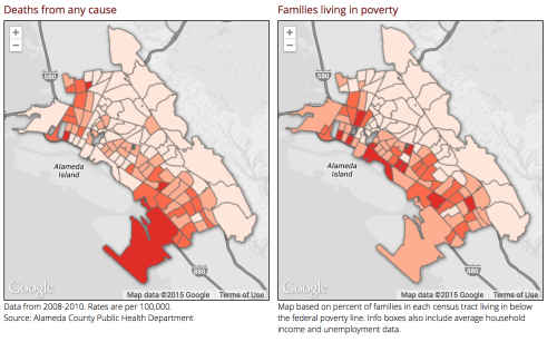 Deaths:Poverty in Oakland