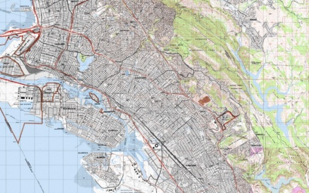 Oakland TOPO USGS