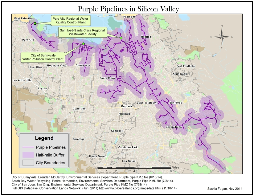 The Swarming of Silicon Valley, CA | Musings on Maps