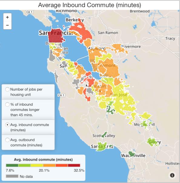 Average Inboudn Commute
