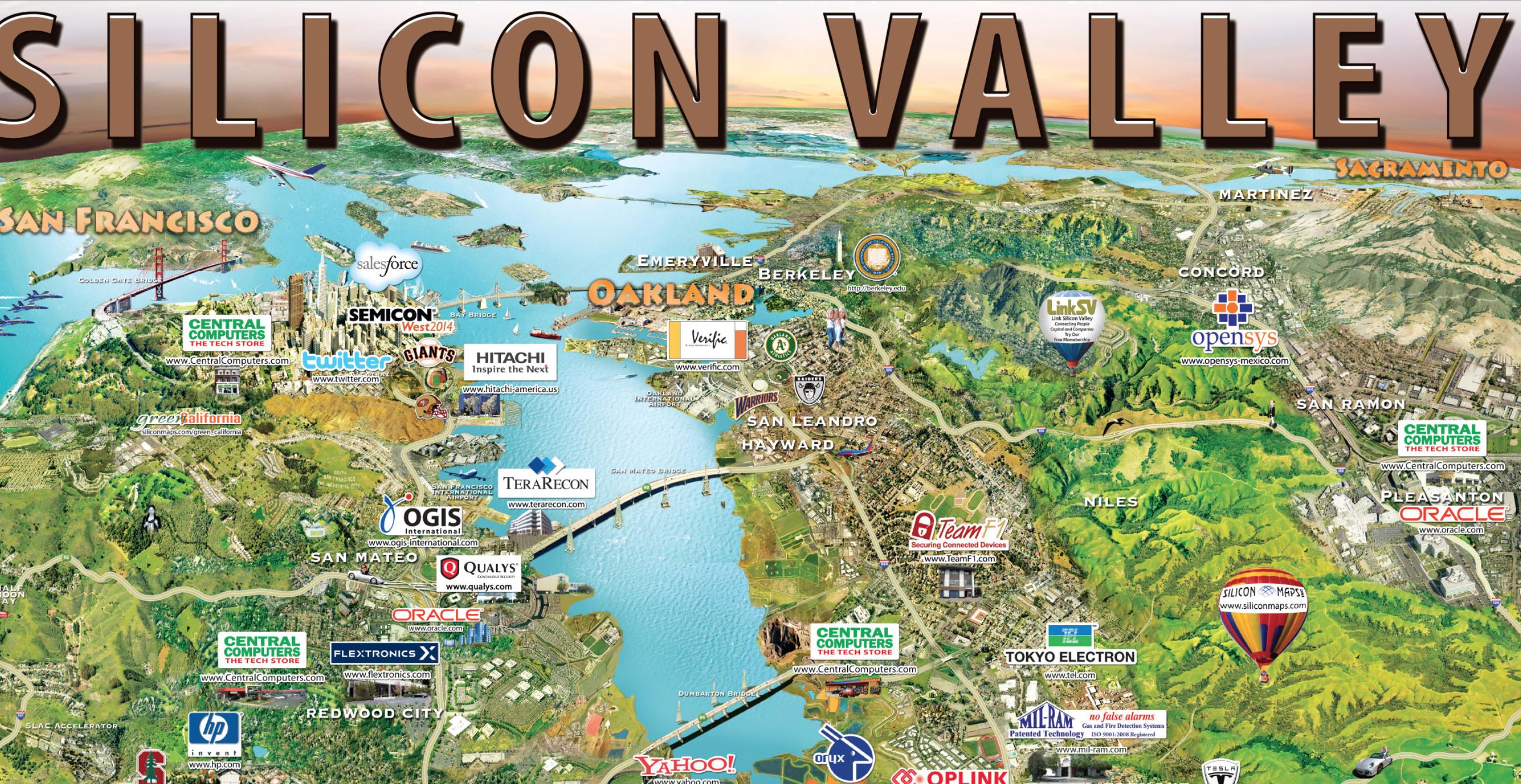 Silcon Maps #1