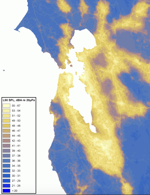 Bay Area Sound Map