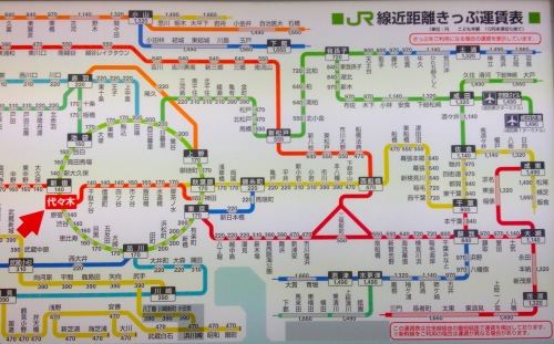 Tube Map Musings On Maps - Japan map 1500