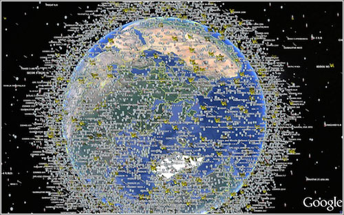 satelites-espacio-google world view