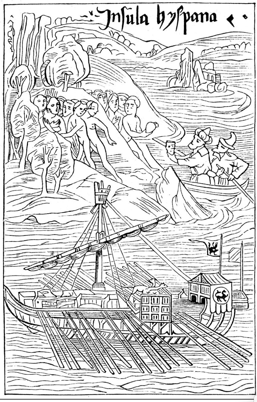 Canoe as CHinese Junk 1494 Basle