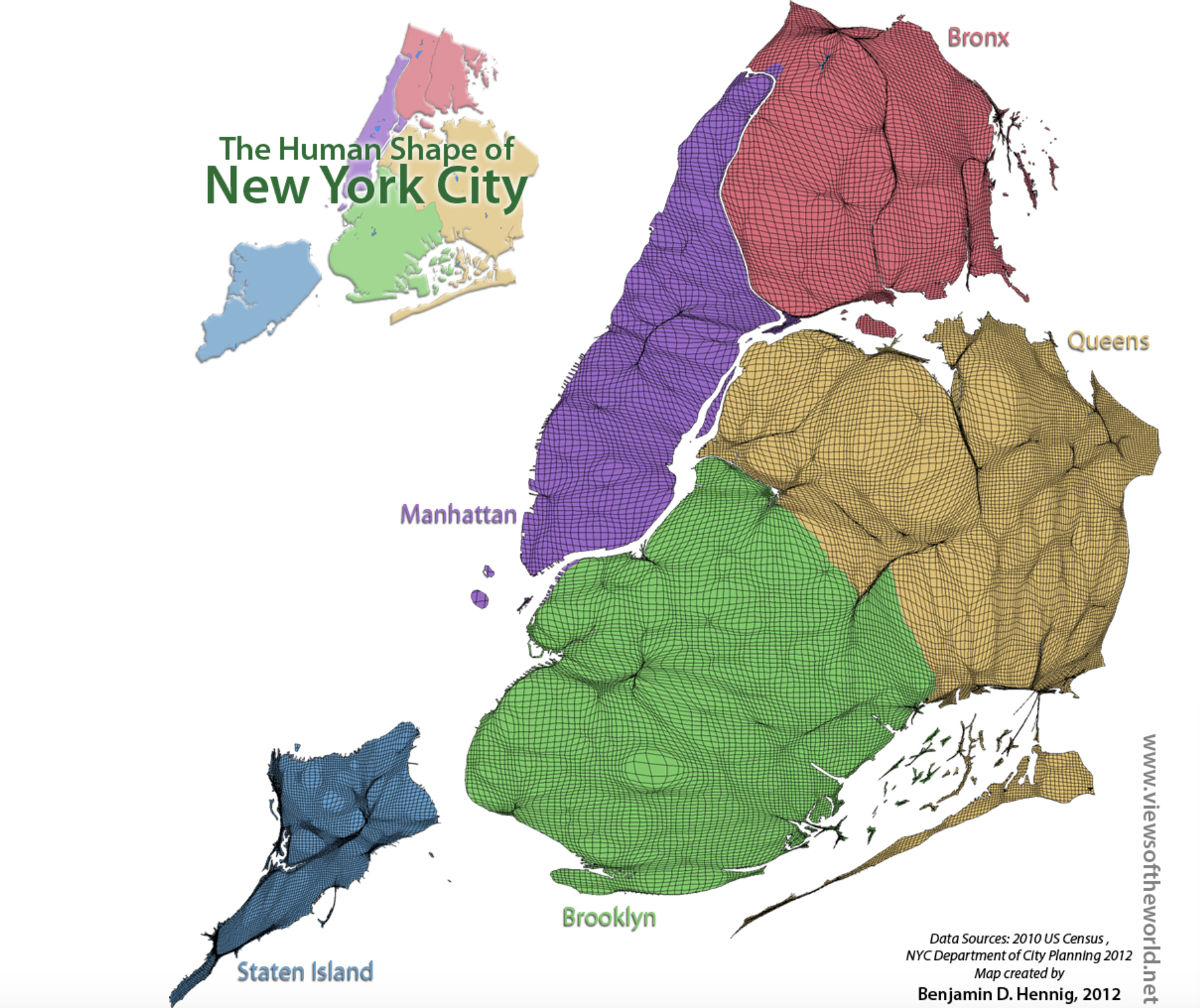 Map Of New York Islands.Is Staten Island Bigger Than Manhattan Musings On Maps