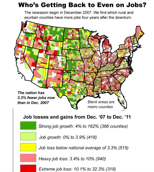 Jobs after Recession 2007-10