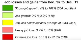 legend job losses and gains