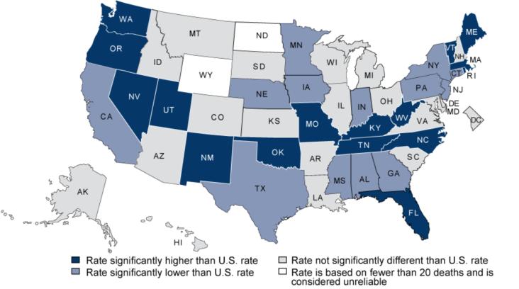 Poisonings involving opioid analgesics 2006
