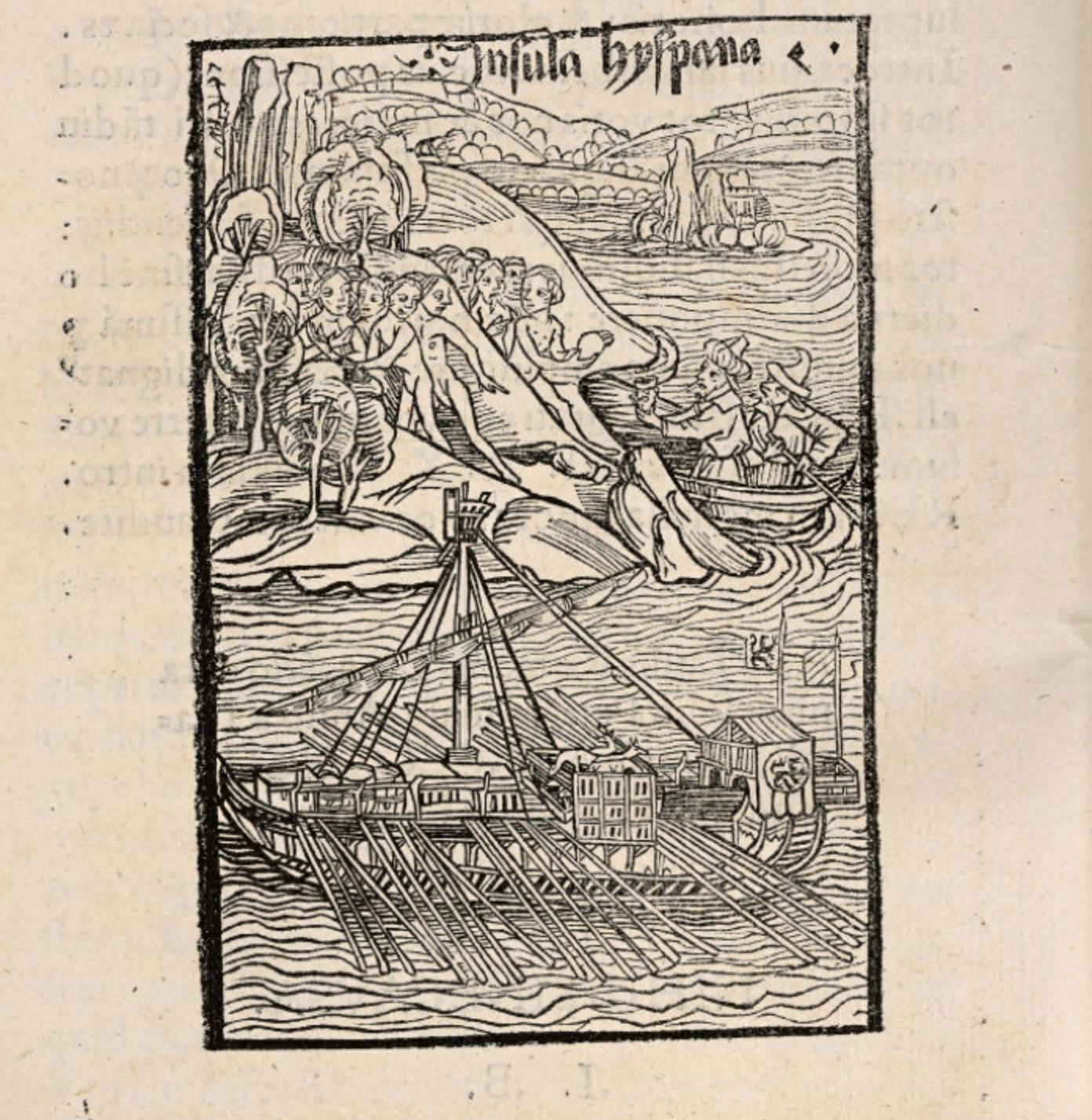 COlumbus Landing--OSher Basel ed 1494