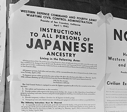SF INSTRUCTIONS TO JAPANESE ANCESTRY