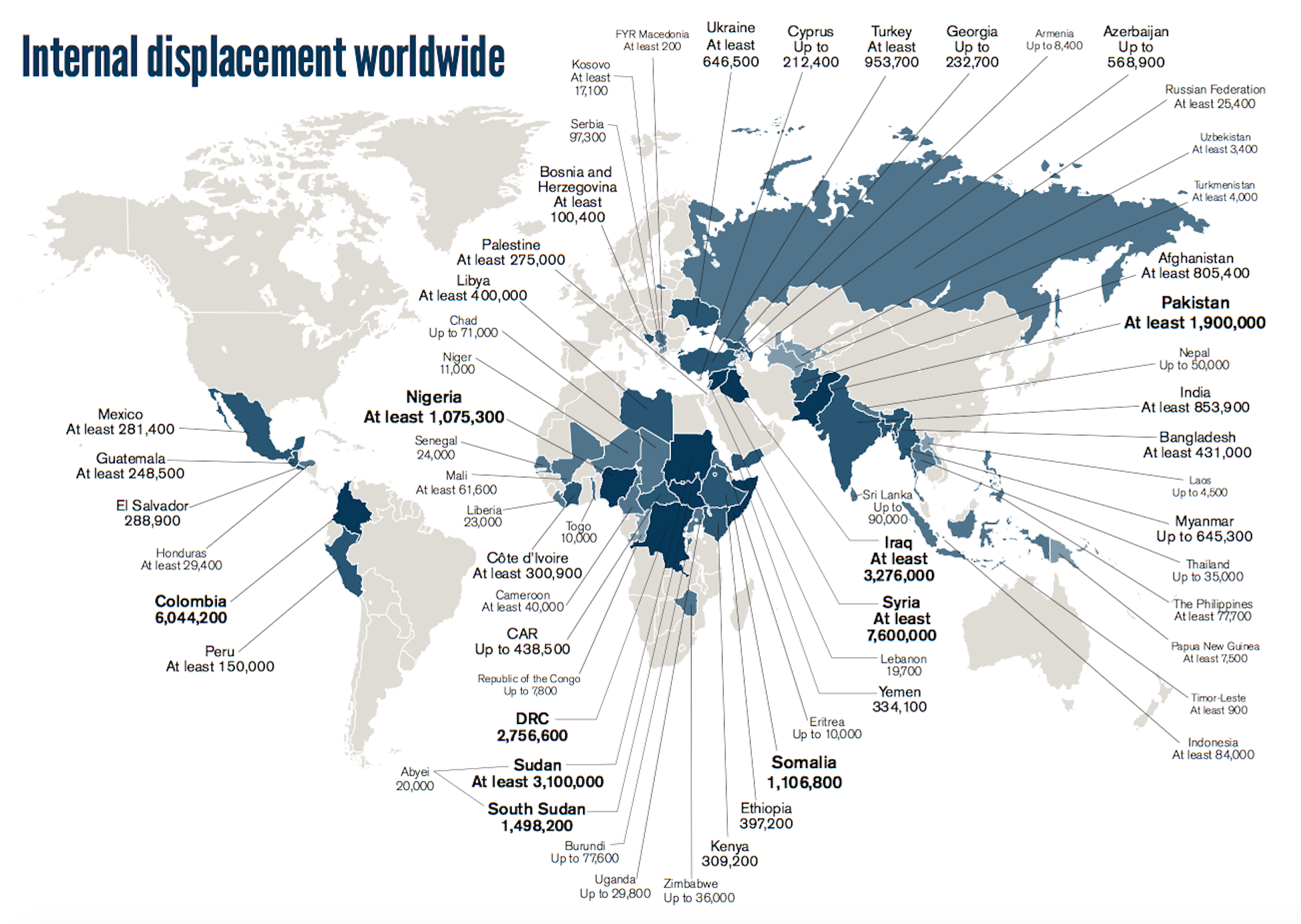 Refugee Camps Around The World Map.Mapping Refugee Routes Musings On Maps