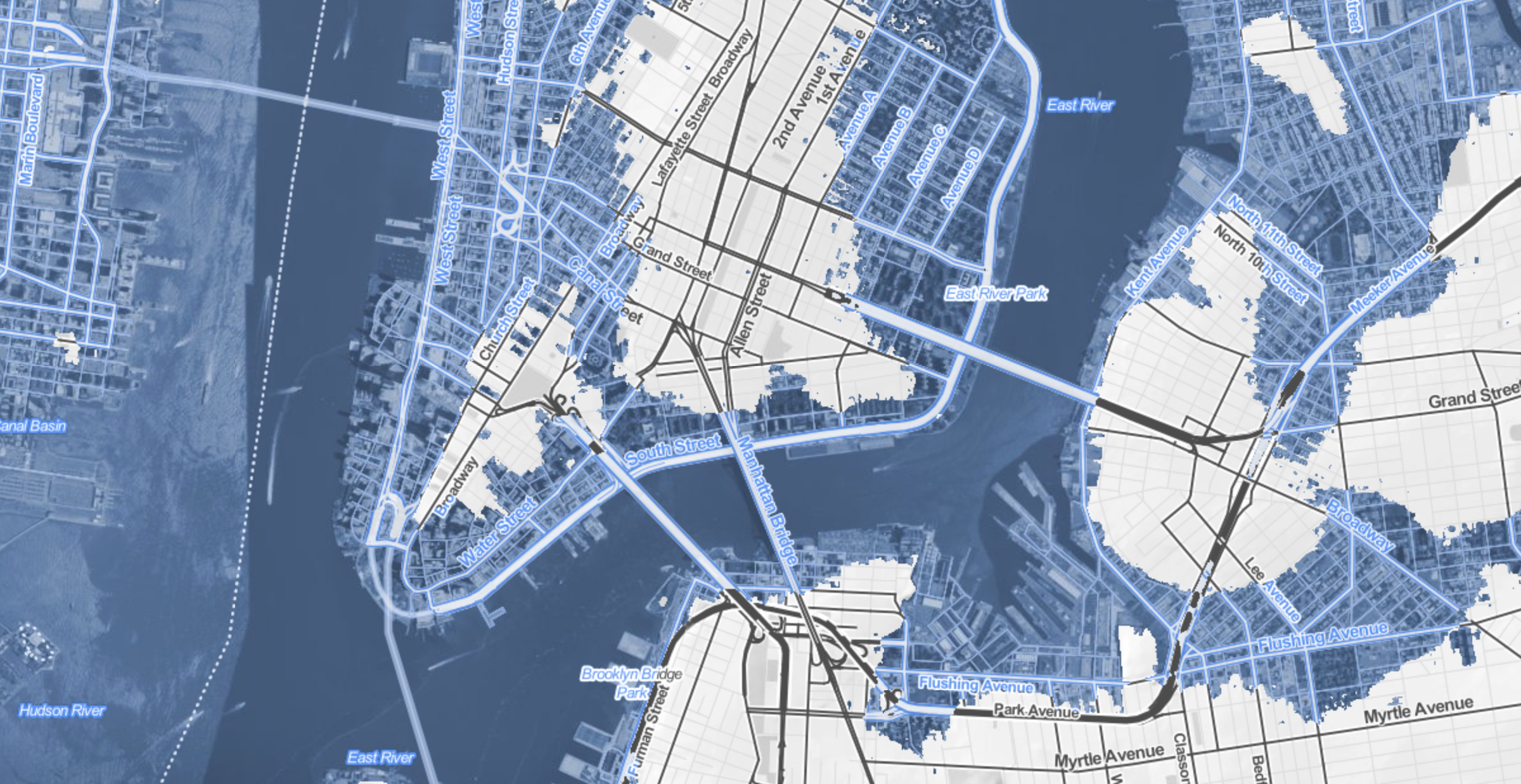Lower Manhattan Island?