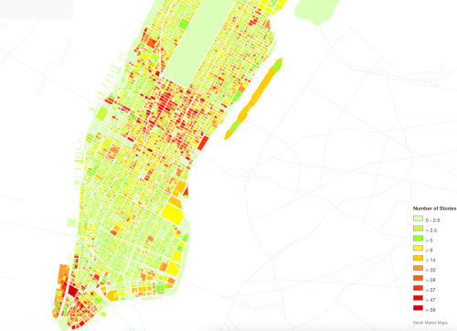 Mapping NYC by Sarah