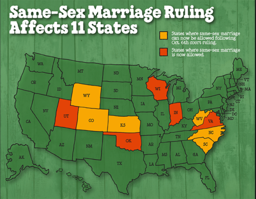 B&J Marriage Equality Map Same-Sex Ruling OCt 6
