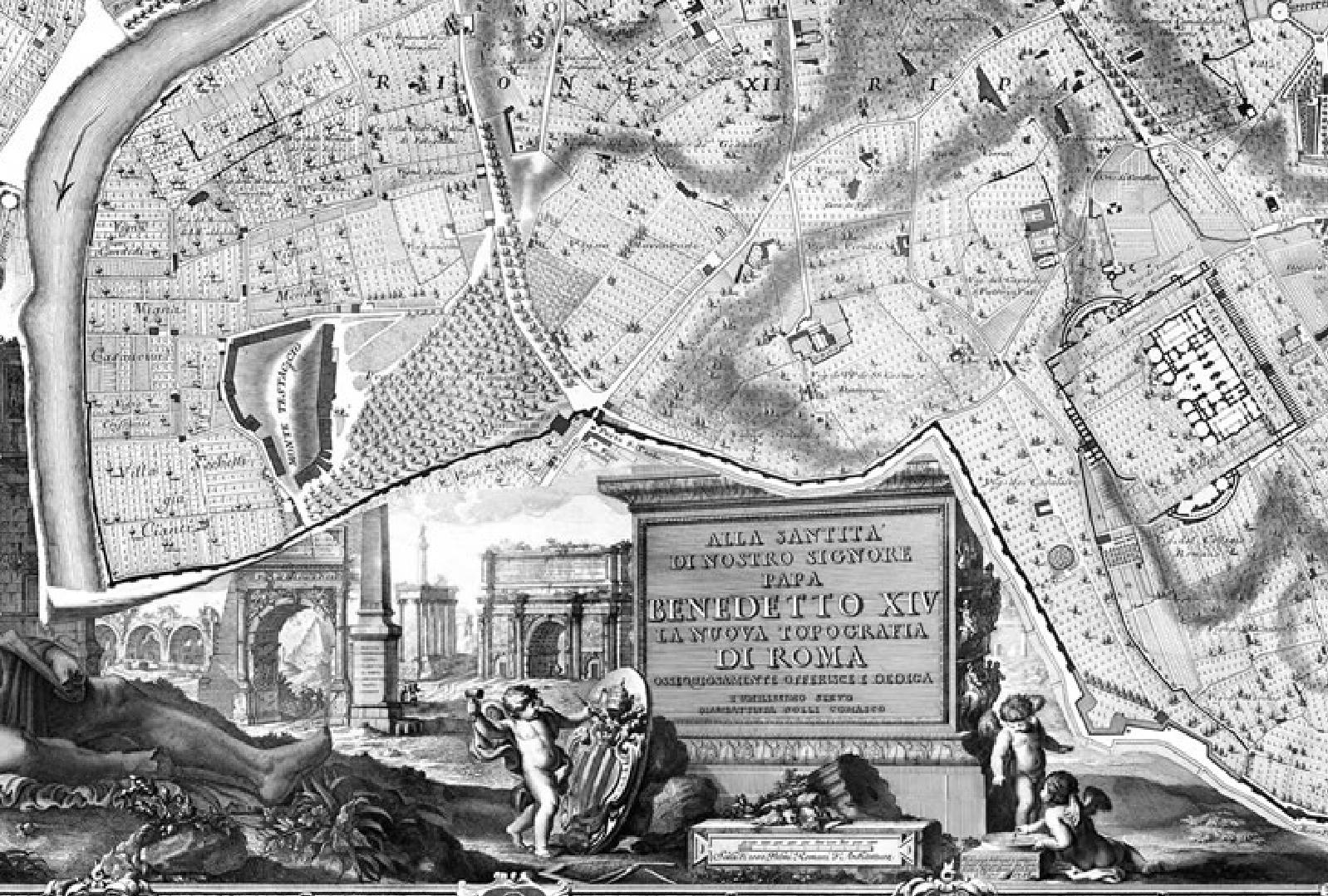 dedication of nuova topografia