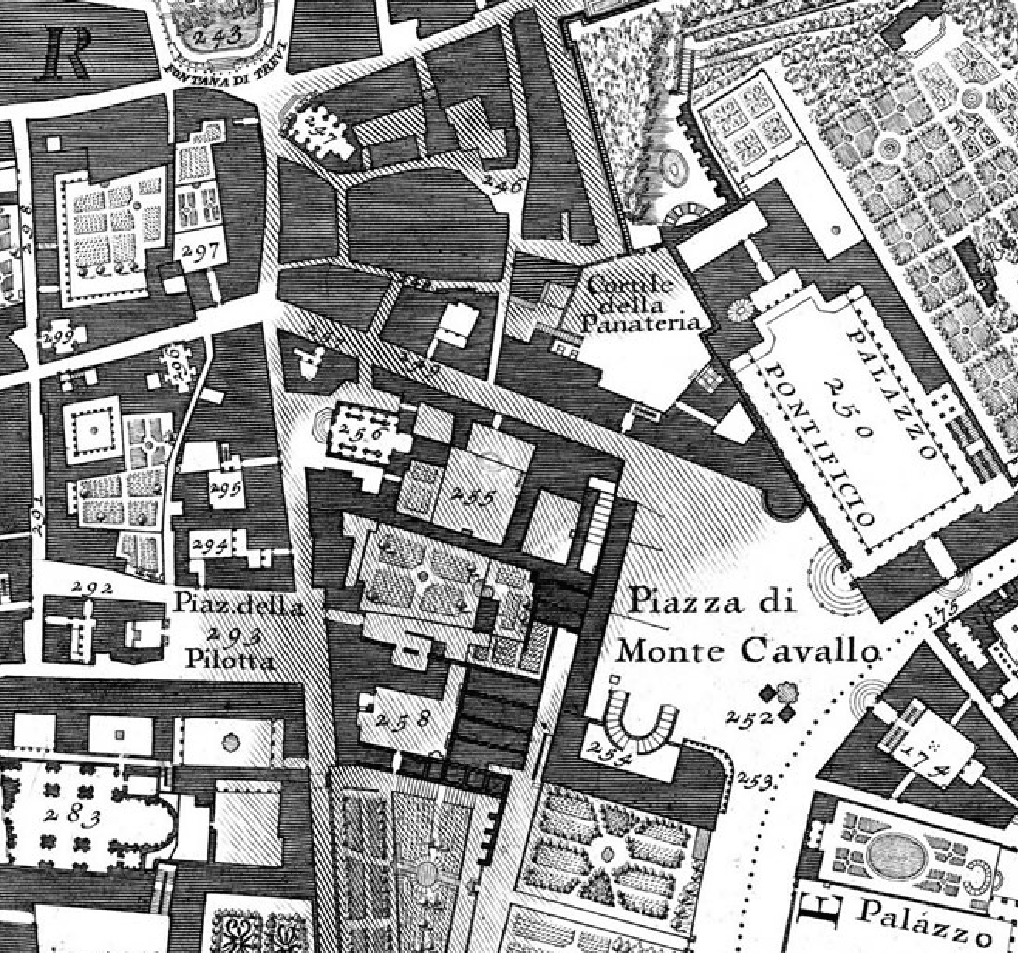 Trevi and Palazzo Pontificio