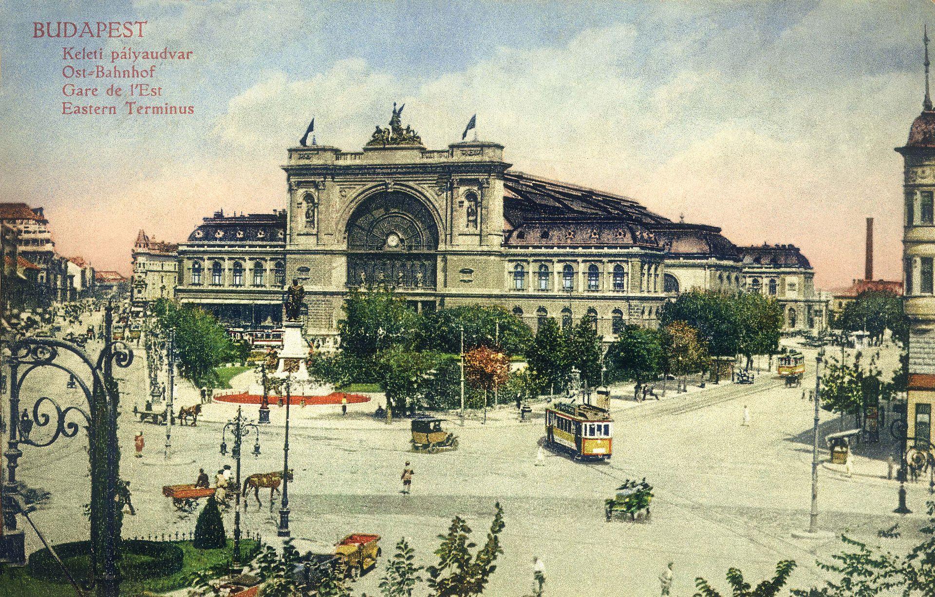 Budapest_Keleti_Palyaudvar_1912_Kepeslap