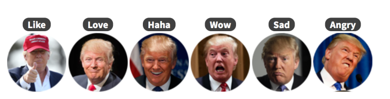 Trump Reaction Pack