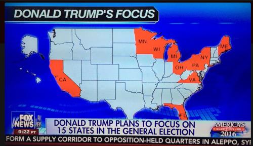Trump's Focus?