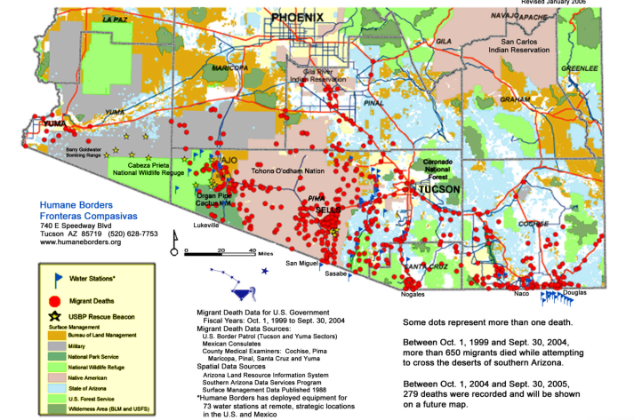 Mapping The Material Surplus Along The USMexico Border Musings - Map of southern us and mexico