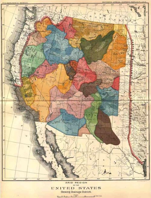 Arid Region of US