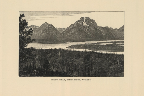 Mt Moran, Teton Range, Wyoming by Powell.png