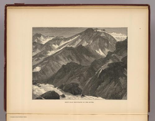 Snow-Clad Mountains on Colorado River