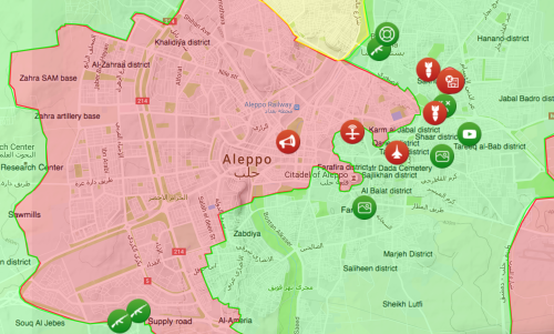 Bombs and Gun Fire in Aleppo Oct 3.png