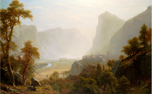 Hetch Hetchy Valley, Bierstadt Californai Historical Society.png