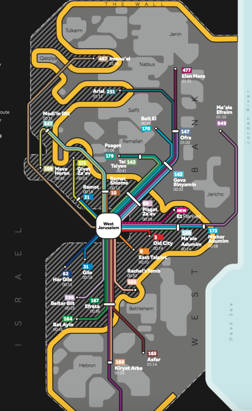 Israeli-only transit routes.png