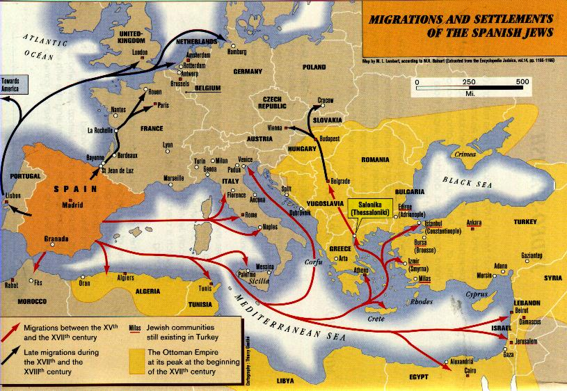 sephardic-jews-migration-map