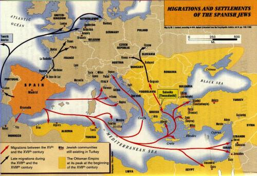 sephardic-jews-migration-map