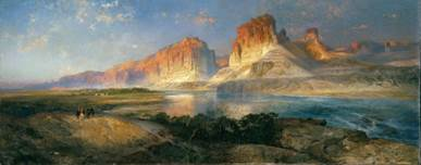 Thomas-Moran-Nearing-Camp-on-the-Upper-Colorado-River