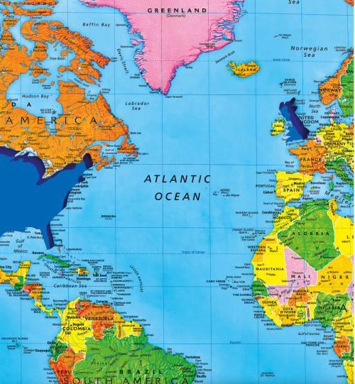 Mapping the New Isolationism: America First? | Musings on Maps