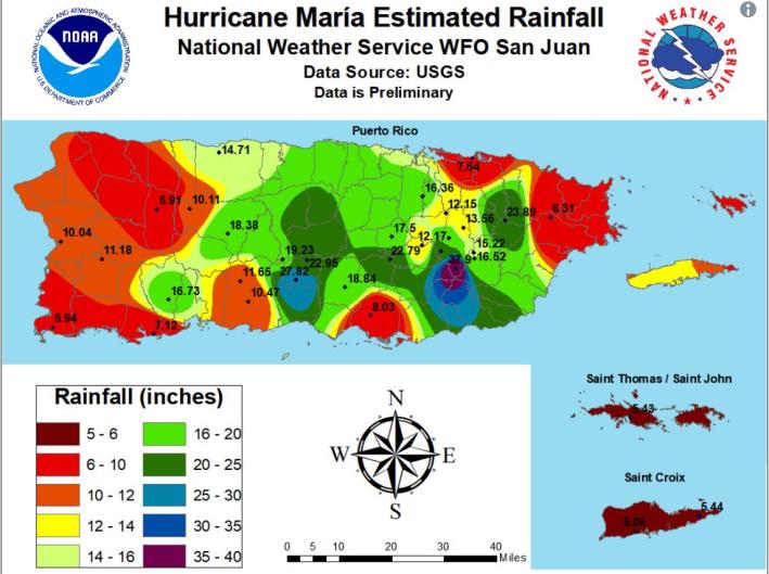Maria Estimate Rainfall Rainbow