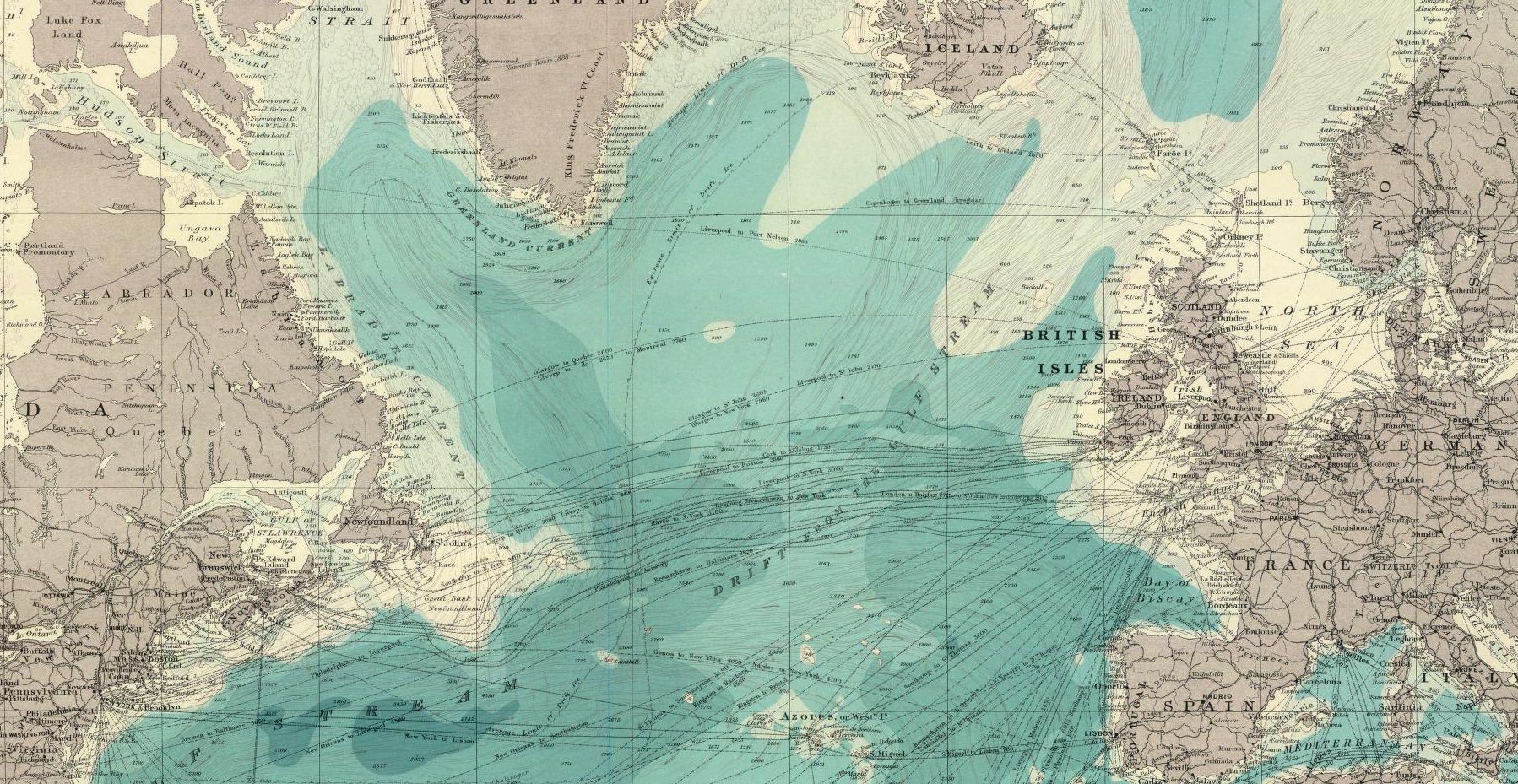 North Atlantic Times Atlas