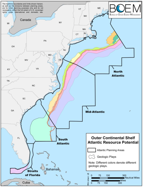 Geologic Plays in Atlantic