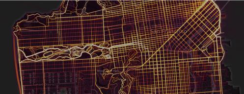 San Fran Strava dataset