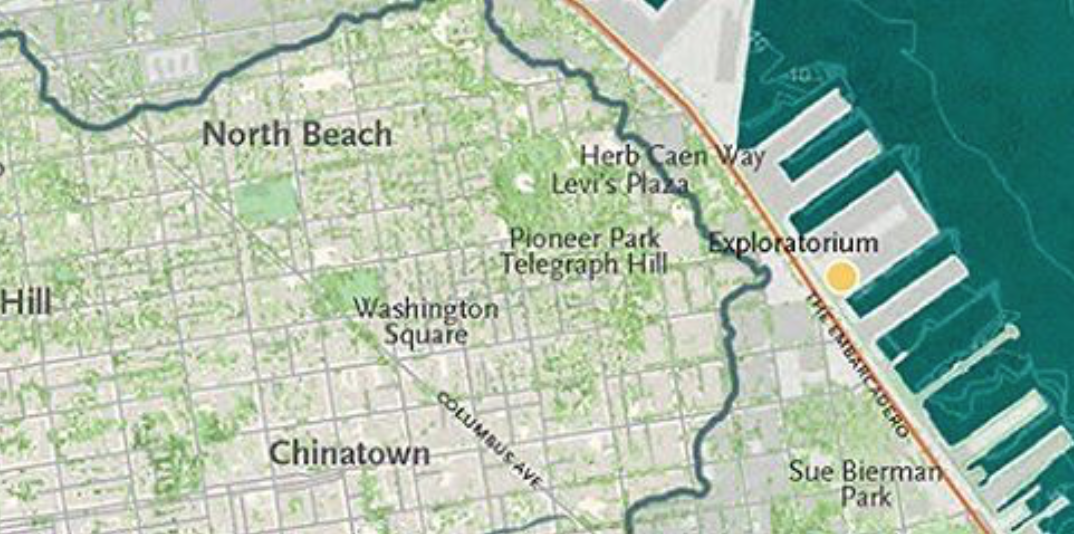 The Natures Of San Francisco Musings On Maps