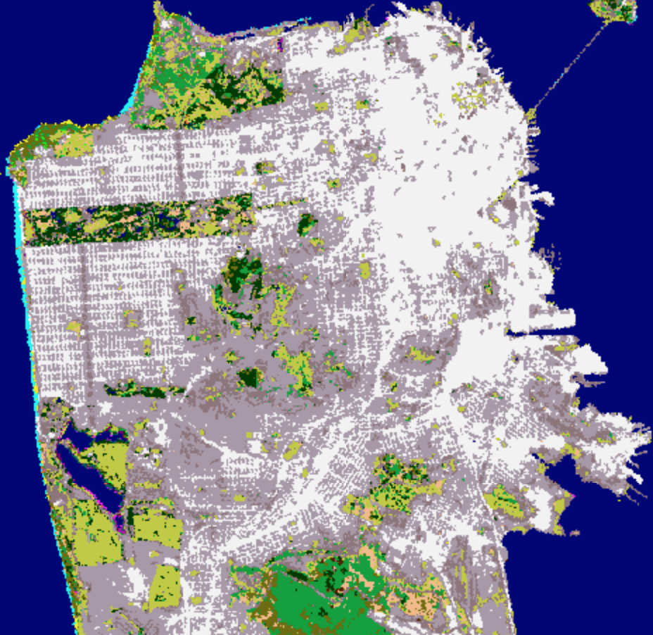 land cover SF