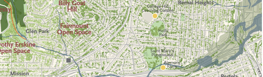 Sections of City–Bernal Heights | Musings on Maps