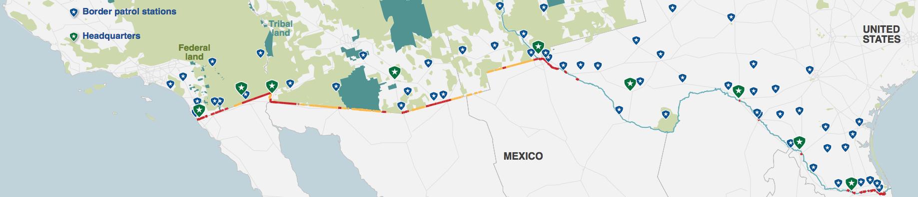 Border Terrain:lands
