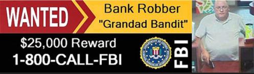 Bank Robber Grandad Bandit